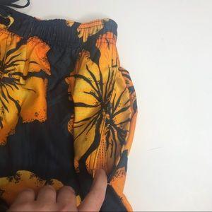 Speedo Swim - Speedo Swim Trunks Hawaiin Print Floral Pocket
